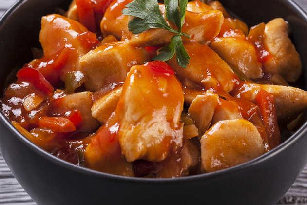 Chicken with Black Bean Sauce