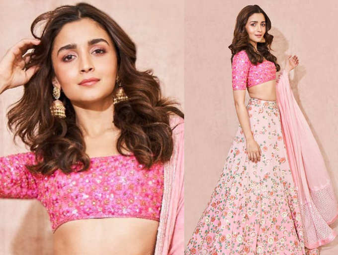 From anarkali to lehenga: Steal Alia Bhatt's style for your BFF's wedding    The Times of India