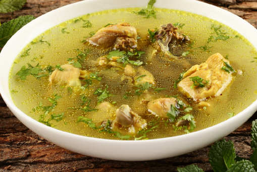 Chicken Lemon Coriander Soup
