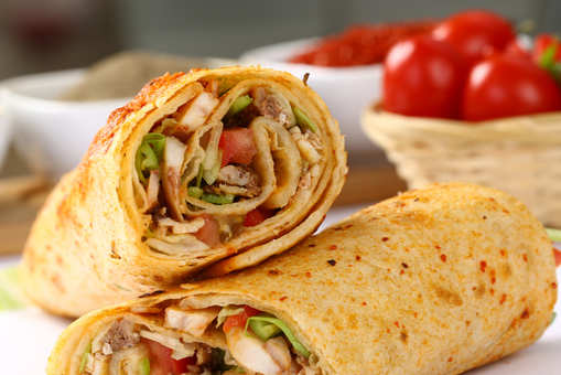 Chicken Egg Wrap
