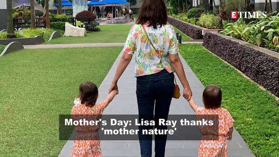 Mother's Day: Let's recognise the art of love, creation and resilience displayed by all mothers, says Lisa Ray