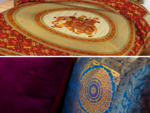 Cushion covers and bed covers