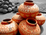 Use earthen pots for cool water