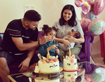Suresh Raina's daughter turns four
