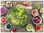 Prepare healthy party food