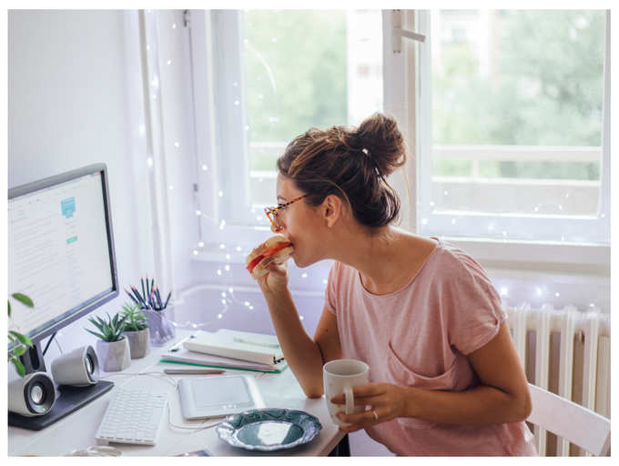 Weight Loss Tips During Wfh Easy Work From Home Food Habits To Help You Lose Weight Quickly