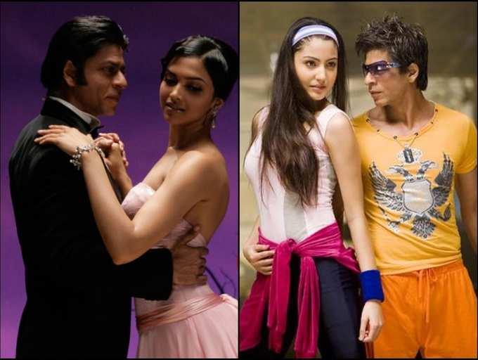 Deepika Padukone To Anushka Sharma Actresses Who Made Their Bollywood Debuts With Shah Rukh Khan The Times Of India