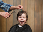 The time for the first hair cut