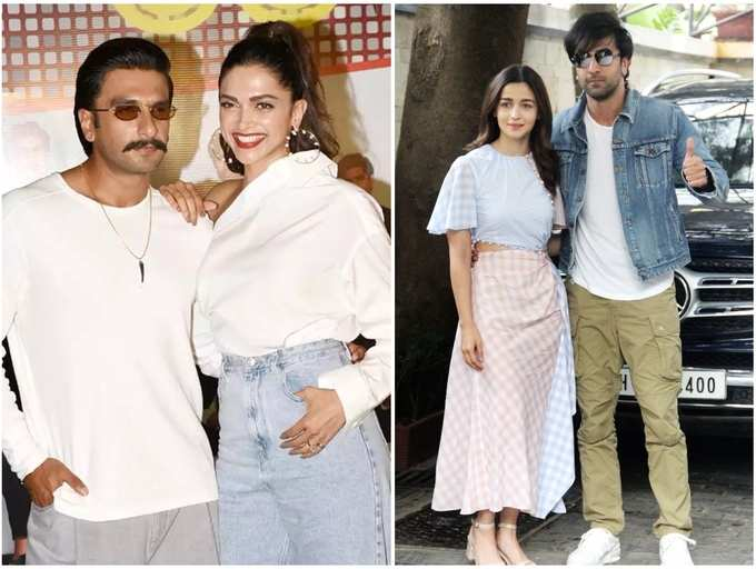 Alia Bhatt Ranbir Kapoor To Deepika Padukone Ranveer Singh Couples Whose Pictures We Miss Seeing Amid Lockdown The Times Of India