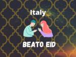 Eid Mubarak Wish in Italy