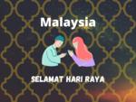 Eid Mubarak Wish in Malaysia