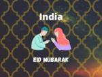 Eid Mubarak Wish in India