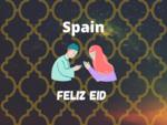 Eid Mubarak Wish in Spain