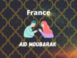 Eid Mubarak Wish in France