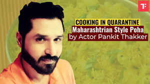 Watch: Maharashtrian Style Poha by actor Pankit Thakker