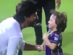 When SRK and AbRam played at the Eden Gardens
