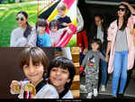 When Abram Khan was snapped with his Bollywood buddies