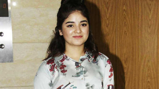 Zaira Wasim deletes her social media accounts after facing backlash for justifying locust attack in India