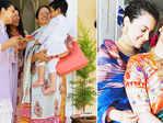 Celebration pictures from Kangana Ranaut's sister Rangoli's new house go viral…
