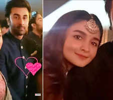 Throwback pictures of Ranbir Kapoor and Alia Bhatt from Armaan Jain's wedding go viral...