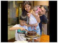 Shilpa Shetty celebrates birthday with two delicious cakes