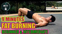 9 minute fat burning - beginner and intermediate level