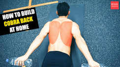 How to build a sexy back at home