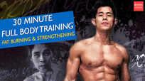 30 min full-body training (fat burning and strengthening)