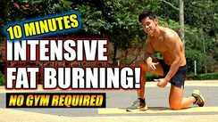 10 minute intensive fat burning (easy, normal, hard)