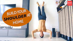 How to build your shoulders at home