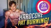 20 minute hardcore fat-burning cardio!
