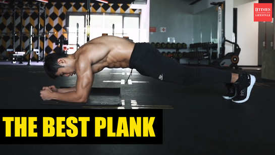 This plank will fire up your abs!