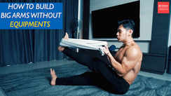 Build bigger arms without any equipment