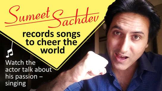Sumeet Sachdev becomes singer