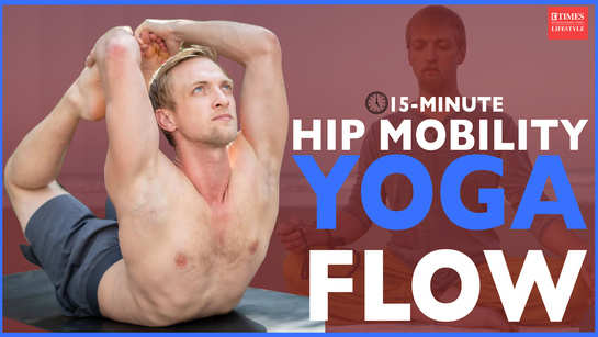 15-minute hip mobility yoga flow