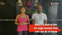 Actress and fitness enthusiast Ragini Chandran demonstrates six yoga asanas one can do at home