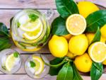 Lemon and olive oil