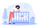 You beat yourself down for not being a 'super mom'