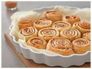 Homemade Cinnamon Roll recipe in 4 simple steps