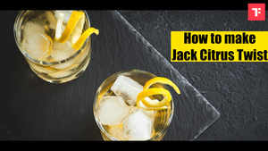 Watch: How to make Jack Citrus Twist