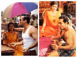 Unseen BTS pictures of Salman Khan and Aishwarya Rai Bachchan from the sets of 'Hum Dil De Chuke Sanam'