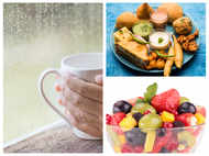 Easy-to-follow healthy eating habits for monsoons