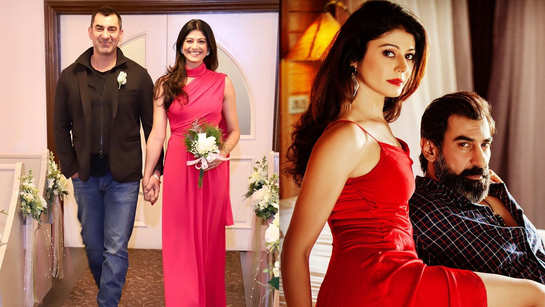 Pooja Batra shares unseen wedding pics as she celebrates her first anniversary with Nawab Shah