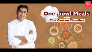 One-pot meals with Chef Gautam Chaudhry: Grilled Soya Chaap & Buckwheat Beetroot Salad