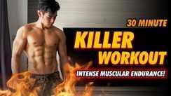 30 minute killer bodyweight workout!