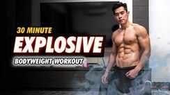 30 minute explosive bodyweight workout!