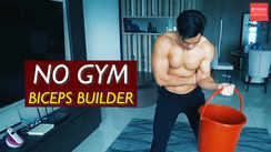 Quarantine Home Biceps Builder (as good as gym)