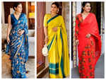 Five times Kajol impressed us with her stunning and stylish saree looks