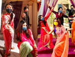 Jigyasa Singh and cast of Shakti are all smiles