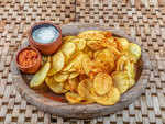 Not making healthy potato chips